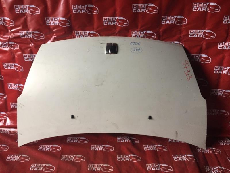 Капот Toyota Passo KGC15-0018997 1KR-0180025 2005 (б/у)