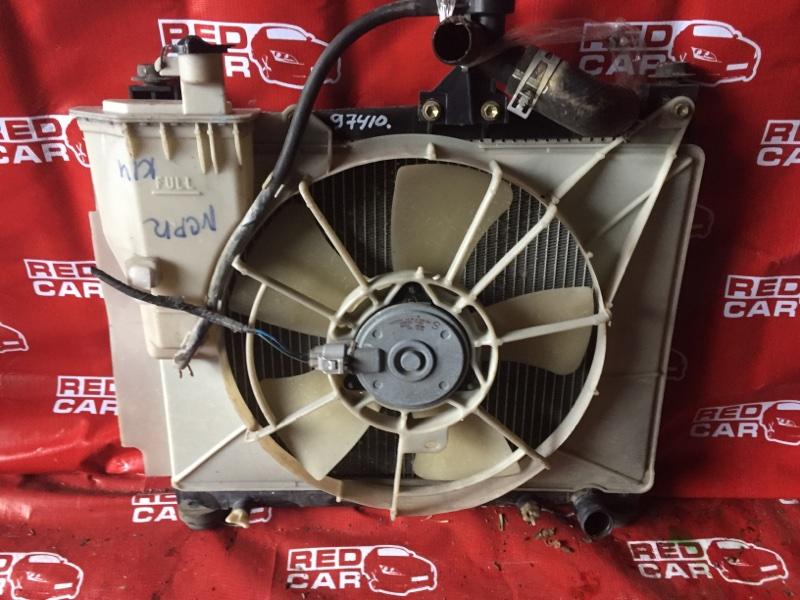 Радиатор основной Toyota Platz NCP12-0352375 1NZ-3226729 2004 (б/у)