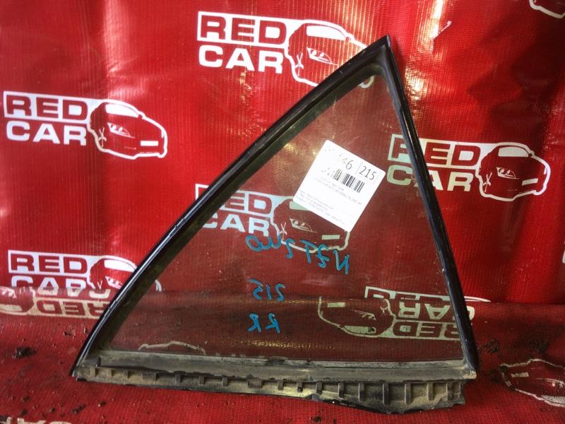 Форточка двери Toyota Allion NZT240-0046276 1NZ-A925904 2003 задняя правая (б/у)