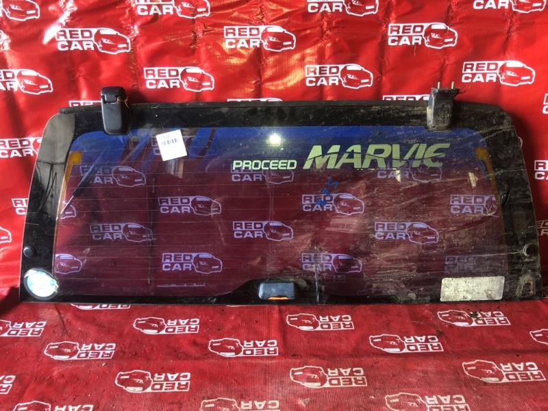 Стекло двери 5-й Mazda Proceed Marvie UVL6R-101536 WL 1996 заднее (б/у)