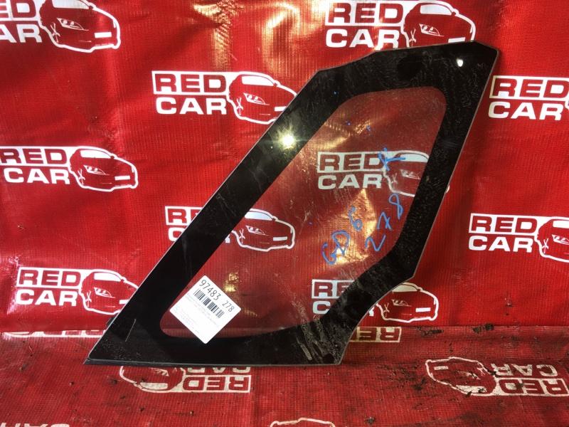 Форточка кузова Honda Fit GE6-1017381 L13A-4019945 2007 передняя правая (б/у)