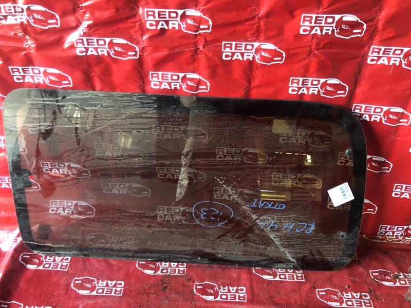 Стекло двери Toyota Hiace Regius RCH41-0023124 3RZ 1998 заднее левое (б/у)