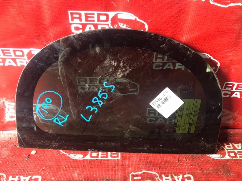 Стекло собачника Daihatsu Tanto L385S-0059495 KF 2011 заднее левое (б/у)