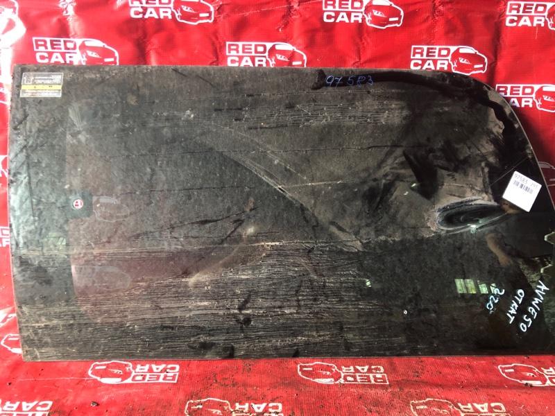Стекло двери Nissan Elgrand AVWE50-010398 QD32 1997 заднее левое (б/у)