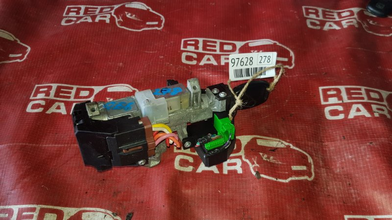 Замок зажигания Honda Fit GE6-1017381 L13A-4019945 2007 (б/у)