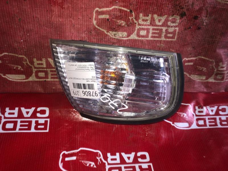 Габарит Nissan Sunny FB15-391940 QG15-482431A 2003 правый (б/у)