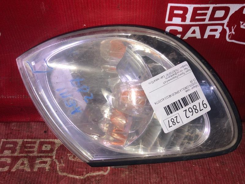 Габарит Toyota Corolla Spacio AE111-6133774 4A-H510752 1999 правый (б/у)