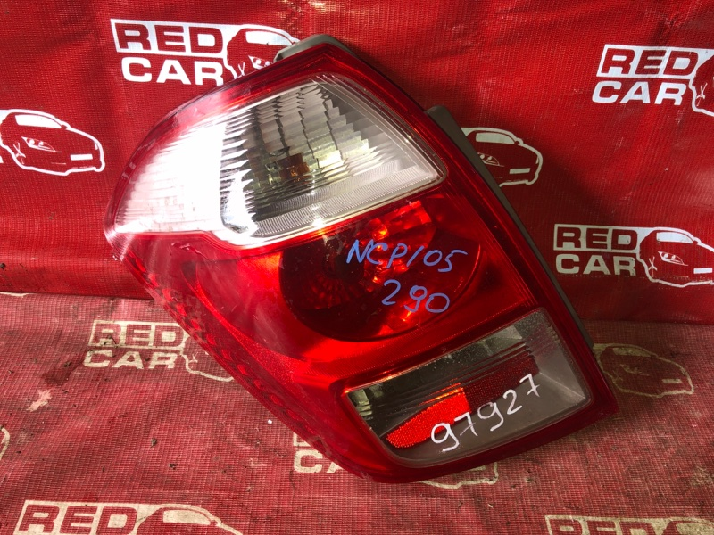 Стоп-сигнал Toyota Ractis NCP105-0006171 1NZ-C036969 2006 левый (б/у)