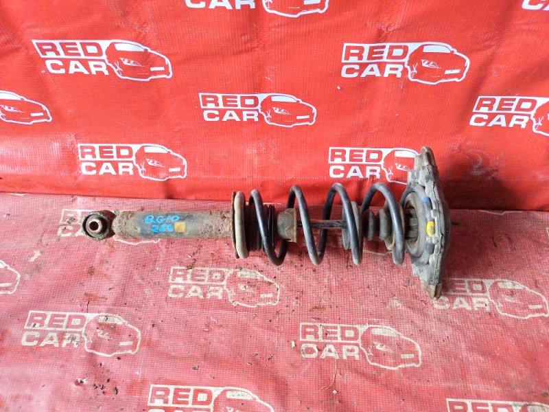 Стойка Nissan Bluebird Sylphy QG10-019847 QG18-375812 2001 задняя правая (б/у)