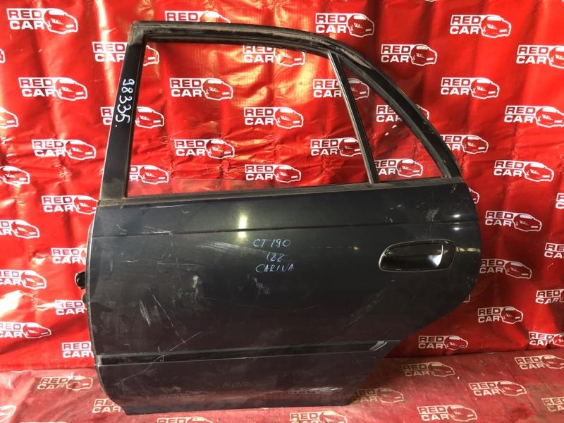 Дверь Toyota Carina CT190-7010442 2C 1994 задняя левая (б/у)