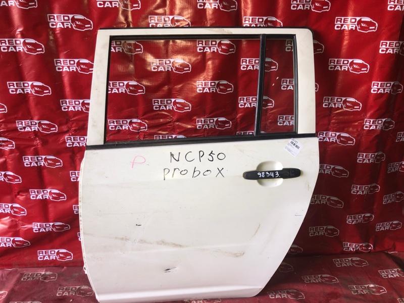 Дверь Toyota Probox NCP51 задняя левая (б/у)
