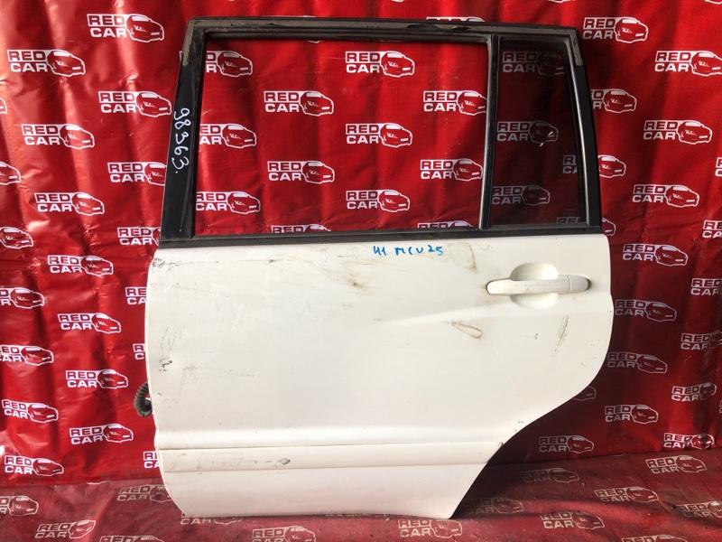 Дверь Toyota Kluger MCU25-0158984 1MZ 2003 задняя левая (б/у)