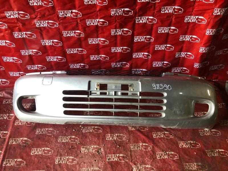 Бампер Toyota Funcargo NCP20-0061314 2NZ-1225202 2000 передний (б/у)
