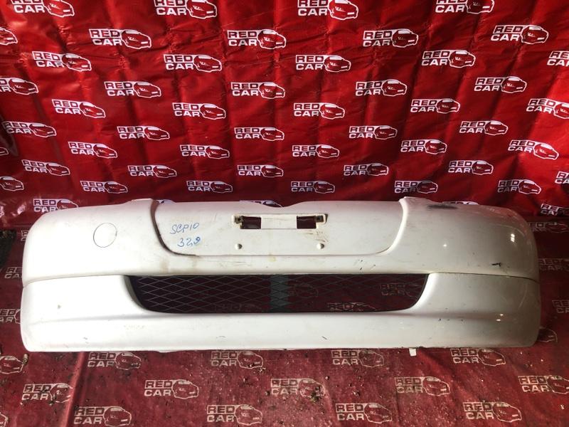 Бампер Toyota Vitz SCP10-3020022 1SZ-0041430 1999 передний (б/у)