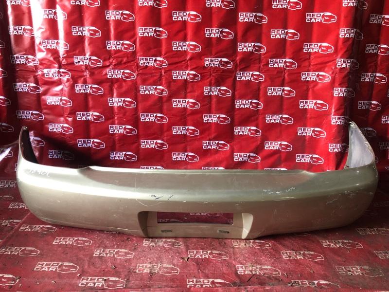 Бампер Toyota Platz SCP11-0002814 1SZ-0241702 1999 задний (б/у)