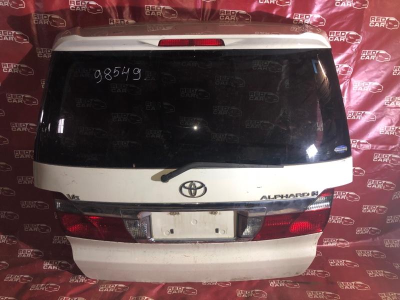 Дверь 5-я Toyota Alphard ANH15 (б/у)