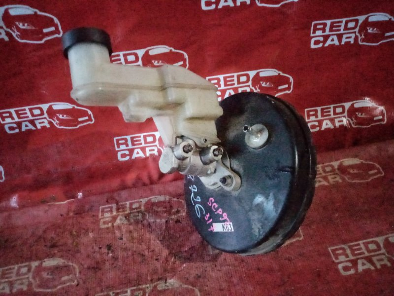 Главный тормозной цилиндр Toyota Belta SCP92-1034920 2SZ-1913412 2007 (б/у)