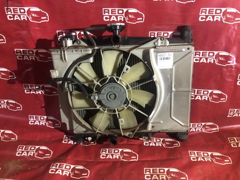 Радиатор основной Toyota Vitz SCP10-0441005 1SZ-1137842 2003 (б/у)