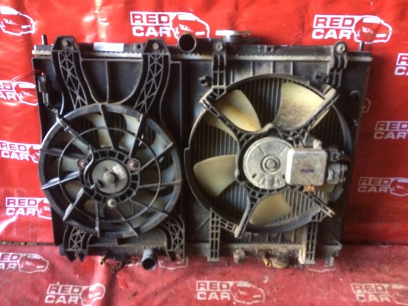 Радиатор основной Mitsubishi Pajero Io H66W-0017389 4G93-KR4781 1999 (б/у)