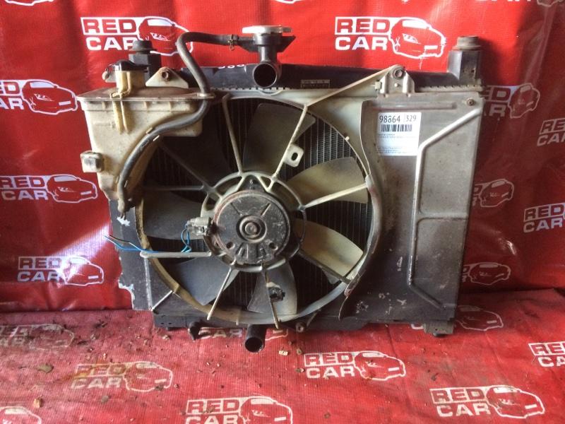 Радиатор основной Toyota Vitz SCP10-3020022 1SZ-0041430 1999 (б/у)