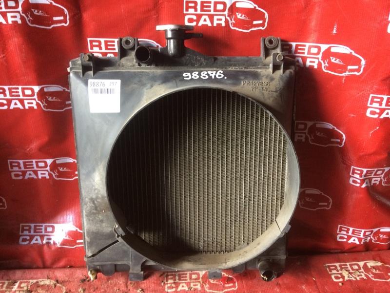 Радиатор основной Mitsubishi Pajero Junior H57A-0020042 4A31-544560 1996 (б/у)