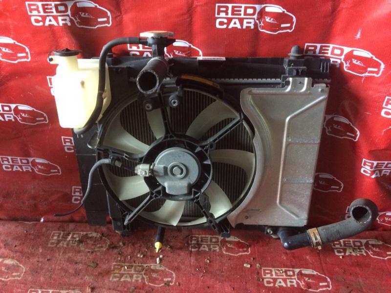 Радиатор основной Toyota Vitz SCP90 2SZ (б/у)