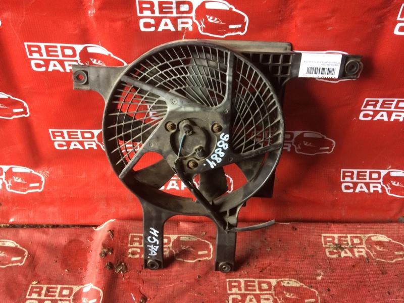 Диффузор радиатора Mitsubishi Pajero Junior H57A-0020042 4A31-544560 1996 (б/у)