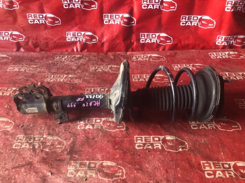 Стойка Toyota Rav4 ACA20-0031539 1AZ-4139164 2002 передняя правая (б/у)