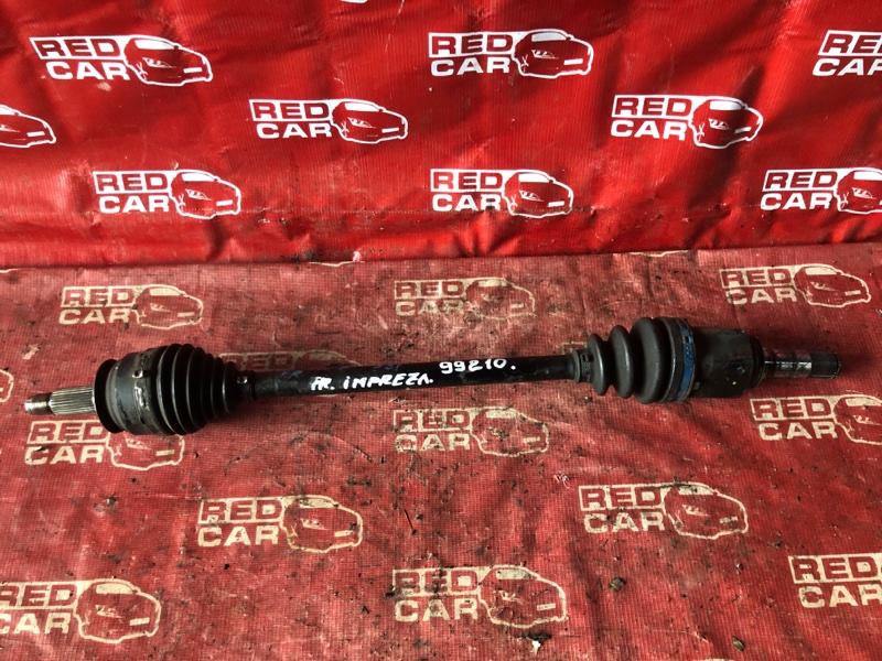 Привод Subaru Impreza GE7-003516 EJ20-E296245 2010 передний правый (б/у)