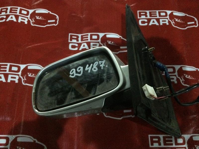 Зеркало Toyota Vitz SCP10 левое (б/у)
