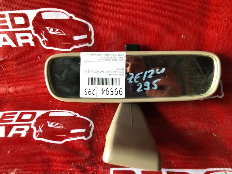 Зеркало салона Toyota Allex NZE124-0060599 1NZ-C921751 2006 (б/у)