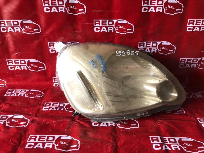 Фара Toyota Vitz SCP10-0441005 1SZ-1137842 2003 правая (б/у)