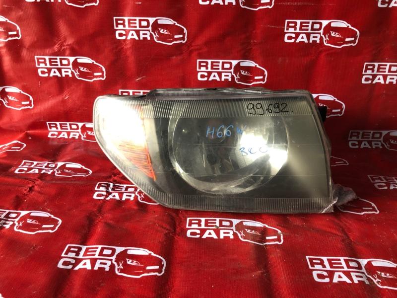 Фара Mitsubishi Pajero Io H66W-0017389 4G93-KR4781 1999 правая (б/у)