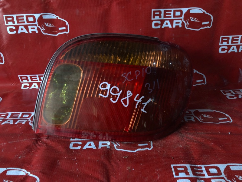 Стоп-сигнал Toyota Vitz SCP10-0441005 1SZ-1137842 2003 правый (б/у)