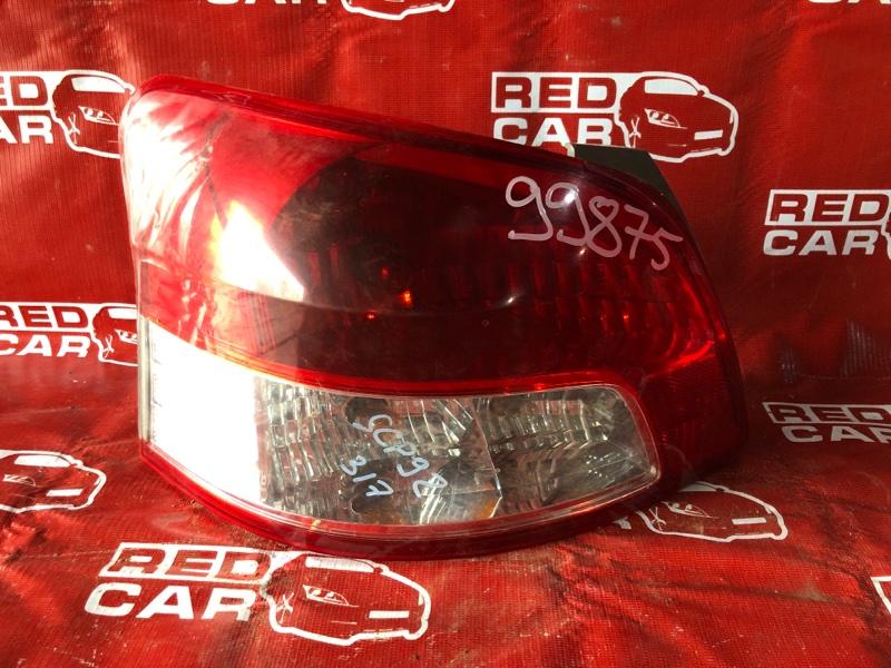Стоп-сигнал Toyota Belta SCP92-1034920 2SZ-1913412 2007 левый (б/у)