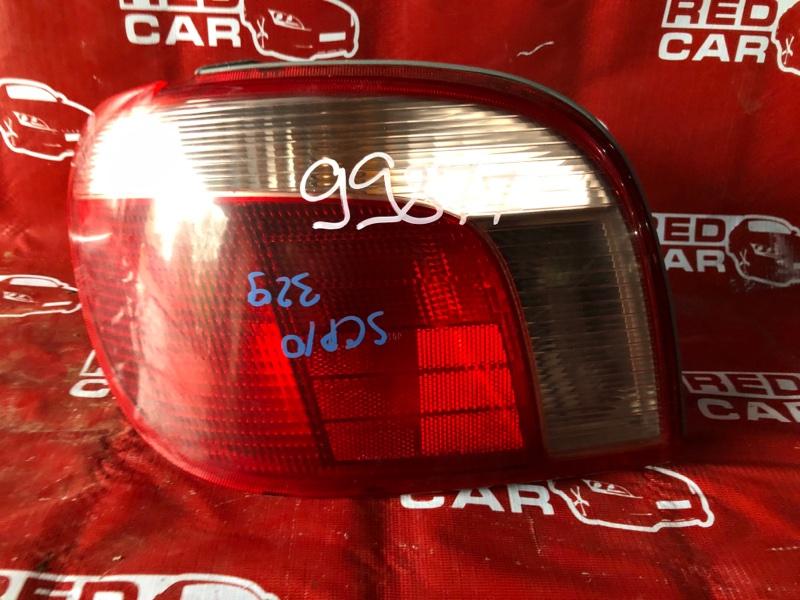 Стоп-сигнал Toyota Vitz SCP10-3020022 1SZ-0041430 1999 левый (б/у)