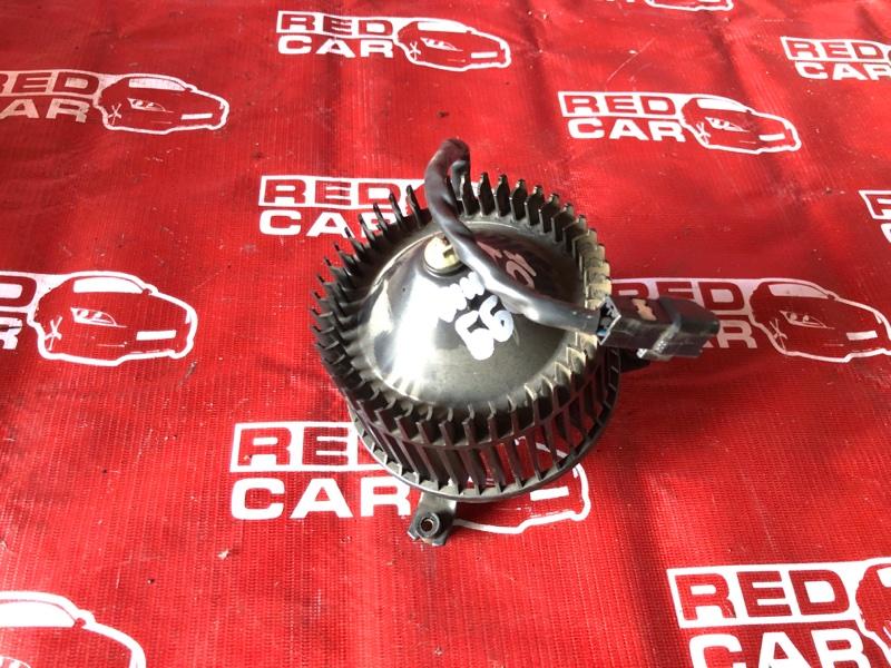 Мотор печки Toyota Hiace KZH1014174 1KZ-0181796 2001 задний (б/у)