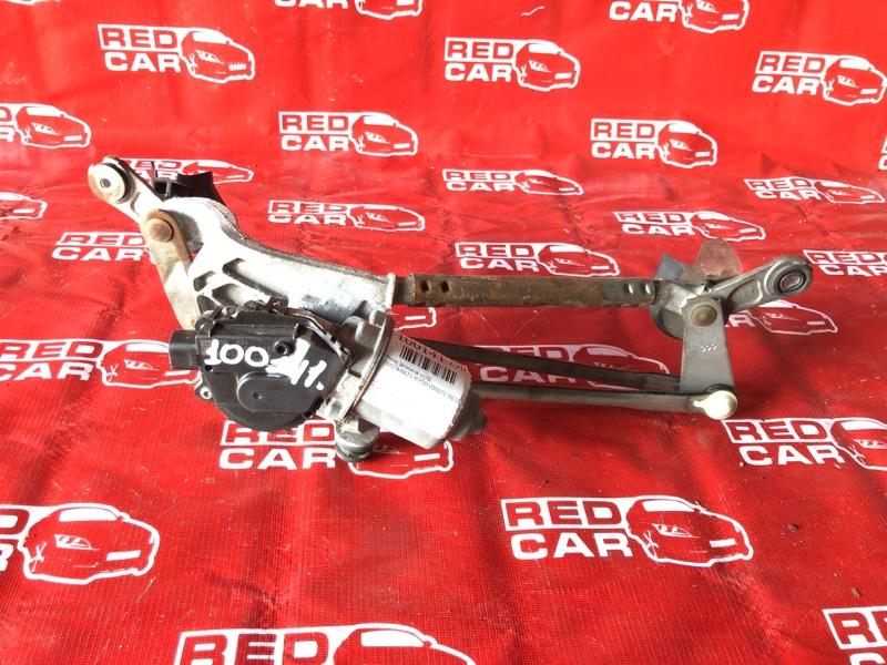Мотор дворников Toyota Ractis NCP105-0006171 1NZ-C036969 2006 передний (б/у)