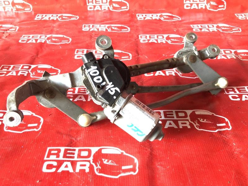 Мотор дворников Honda Fit GE6-1017381 L13A-4019945 2007 передний (б/у)