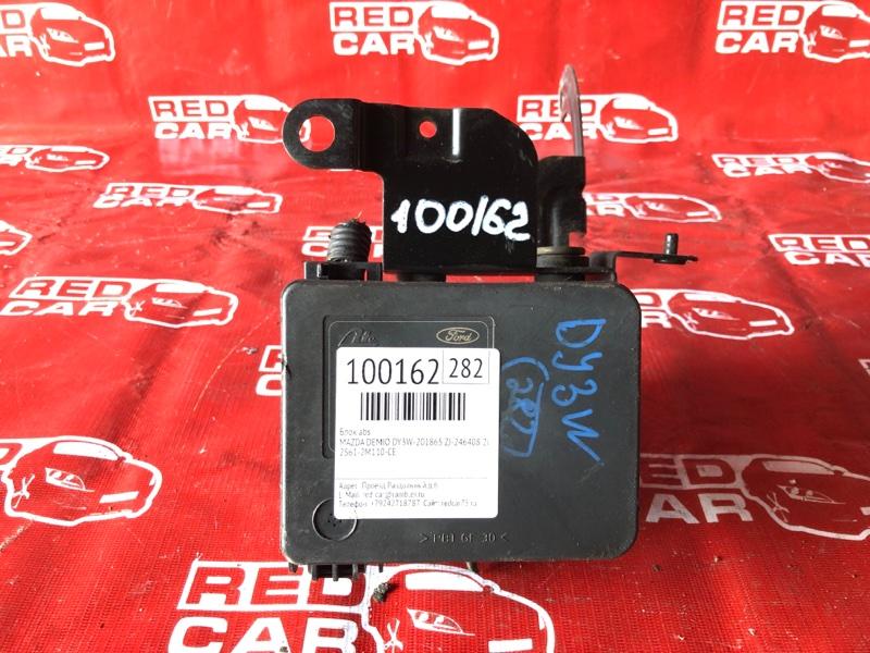 Блок abs Mazda Demio DY3W-201865 ZJ-246408 2003 (б/у)