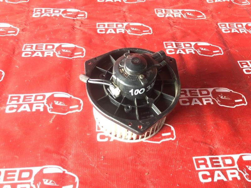 Мотор печки Mitsubishi Pajero Io H66W-0017389 4G93-KR4781 1999 (б/у)