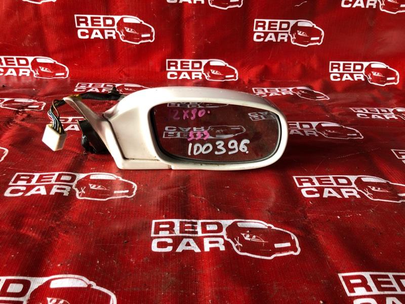 Зеркало Toyota Mark Ii JZX90-0021360 1JZ-0320263 1992 правое (б/у)