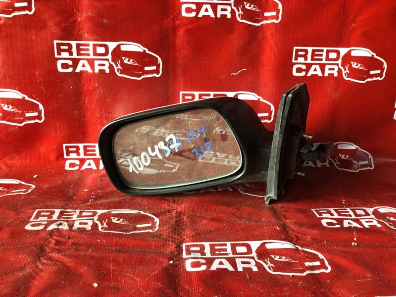 Зеркало Toyota Corolla Runx NZE124-5002724 1NZ-A336692 2001 левое (б/у)