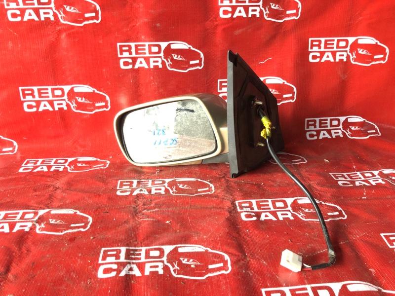 Зеркало Toyota Platz SCP11-0002814 1SZ-0241702 1999 левое (б/у)