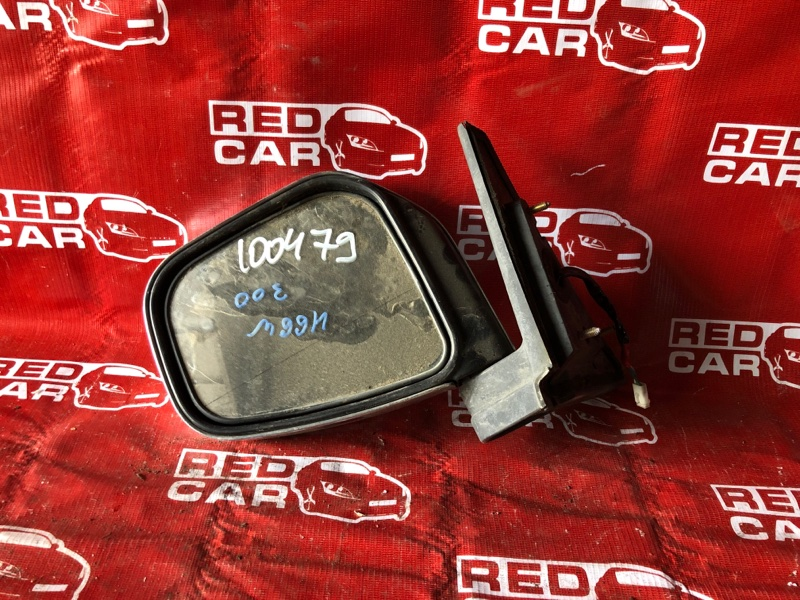 Зеркало Mitsubishi Pajero Io H66W-0017389 4G93-KR4781 1999 левое (б/у)