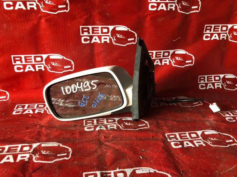 Зеркало Toyota Vitz SCP10-3020022 1SZ-0041430 1999 левое (б/у)