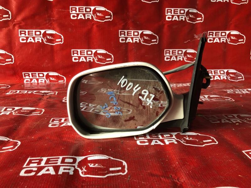 Зеркало Toyota Funcargo NCP25-0025405 1NZ-A194702 2001 левое (б/у)