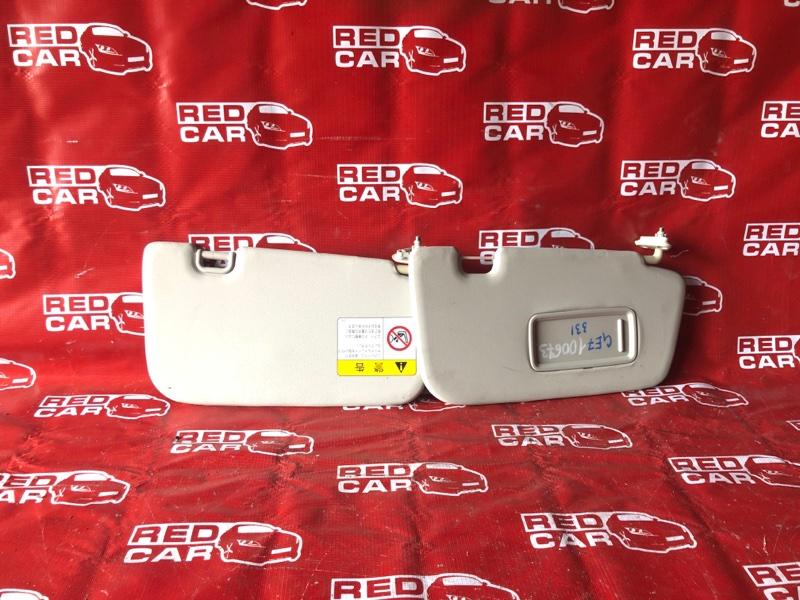 Козырек солнцезащитный Subaru Impreza GE7-003516 EJ20-E296245 2010 (б/у)
