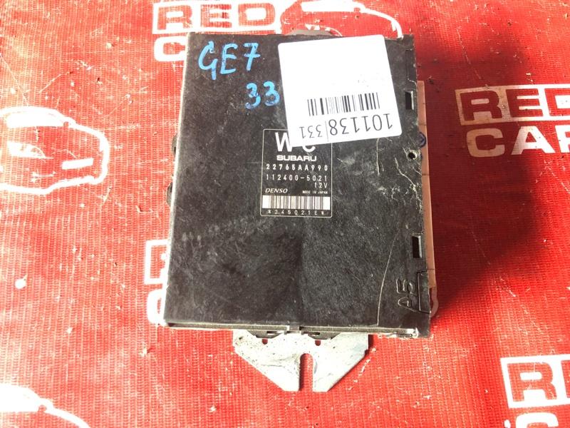 Компьютер Subaru Impreza GE7-003516 EJ20-E296245 2010 (б/у)