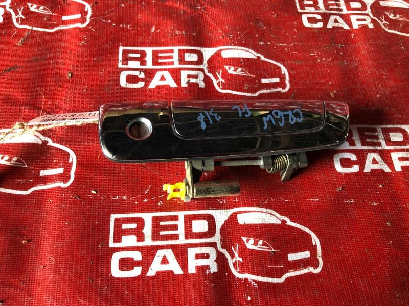 Ручка двери внешняя Mitsubishi Dion CR6W-0006739 4G94-NC4831 2001 передняя левая (б/у)